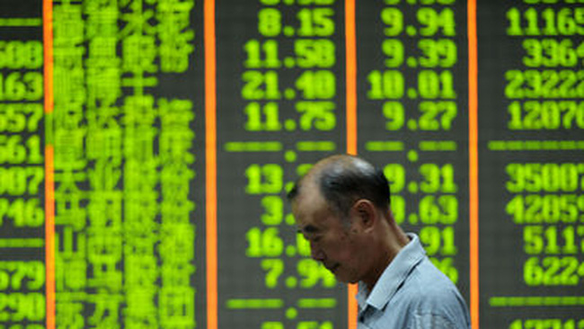 Shanghai Composite ghi nhận chuỗi giảm mạnh nhất 3 tuần