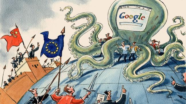 """Google chật vật giữa """"cơn bão"""" chính trị"""