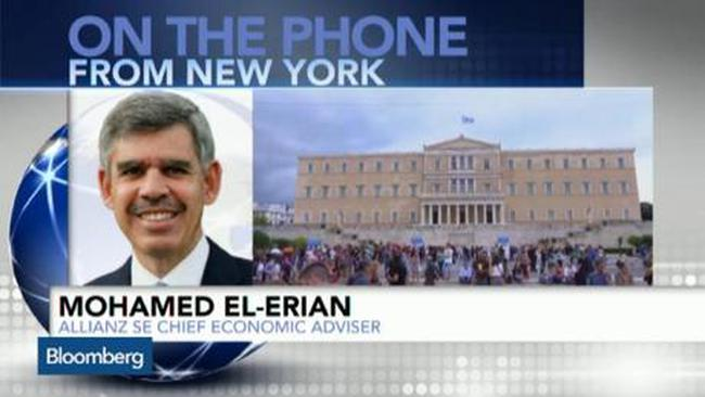 El-Erian: Xác suất Hy Lạp rời eurozone lên tới 85%