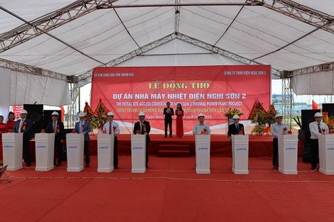 Khởi động xây dựng Nhà máy Nhiệt điện Nghi Sơn 2