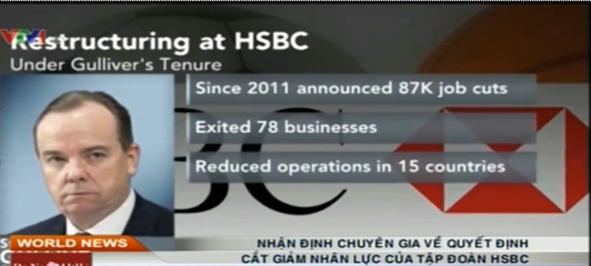 Quyết định cắt giảm nhân lực của Tập đoàn HSBC: Chuyên gia nói gì?