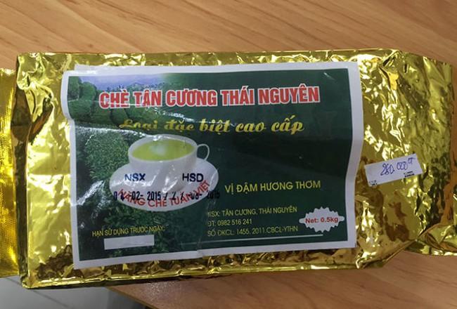 Bán trà kém chất lượng cho khách đi máy bay