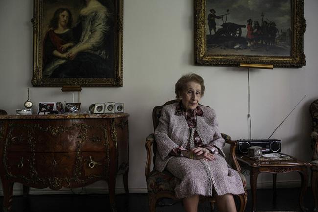 Cụ bà 100 tuổi chia sẻ bí quyết thành công trên phố Wall