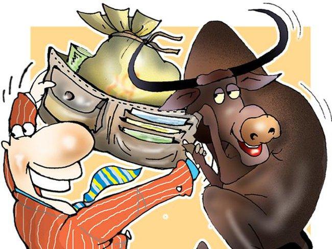 Nhiều cổ phiếu ngân hàng giảm sàn, VnIndex mất gần 13 điểm