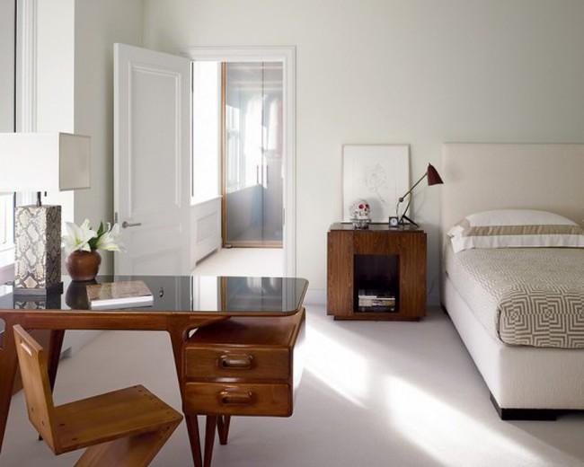 Thiết kế căn hộ chung cư đẹp tinh tế với gam màu trắng