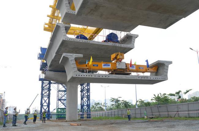 Năm 2019 sẽ hoàn thành tuyến metro số 1 TP.HCM