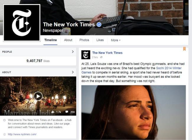 Facebook phát tin tức từ báo chí, chuyện gì xảy ra?