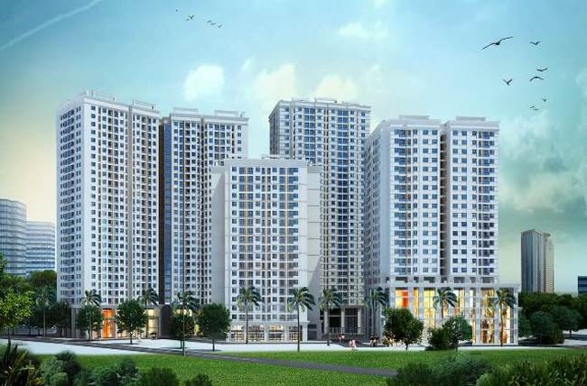 Phía Đông Nam Thủ đô có thêm dự án chung cư 4 tòa nhà 1200 căn