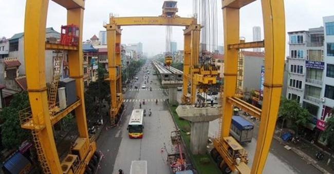 Đường sắt Cát Linh – Hà Đông: Cuối năm 2015 hoàn thành 9/12 nhà ga