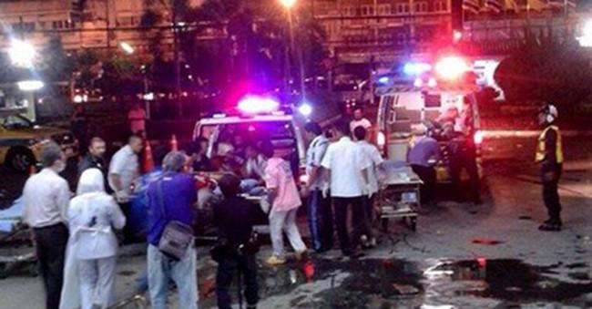 6 quả bom phát nổ liên tiếp ở cực nam Thái Lan