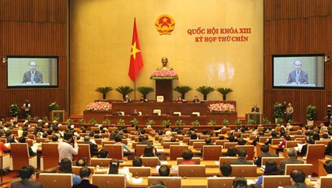 Năm 2016 Quốc hội sẽ tiến hành 3 kỳ họp
