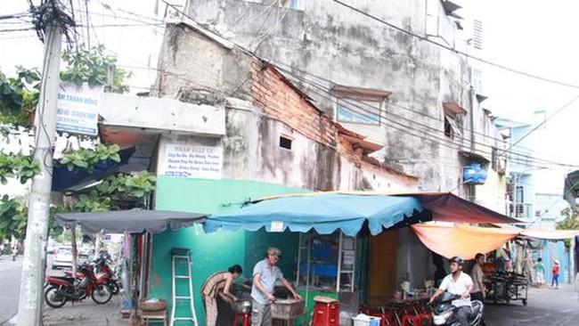 Đà Nẵng lo 23 nhà tập thể sụp đổ