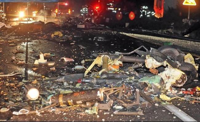 Trực thăng quân sự Mỹ rơi, 6 người chết