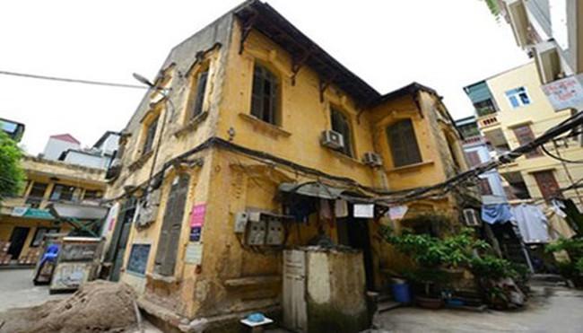 Nhà ở cũ tại Hà Nội có giá 108 triệu đồng/m2