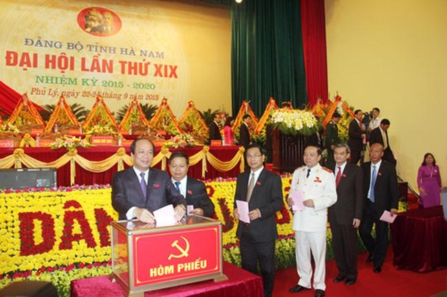 Ông Mai Tiến Dũng được bầu giữ chức Bí thư Hà Nam