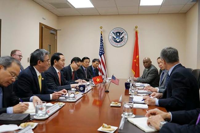 Hoạt động dày đặc của Bộ trưởng Trần Đại Quang tại Mỹ