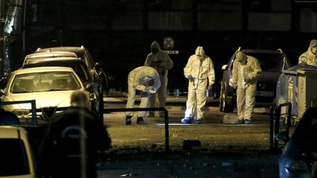 Nổ bom tại trung tâm thủ đô Hy Lạp