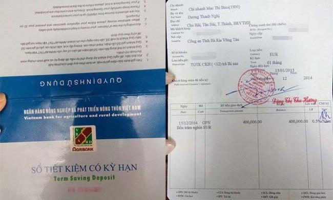 Vụ gửi tiền nhưng không rút được:Trách nhiệm Agribank ở đâu?