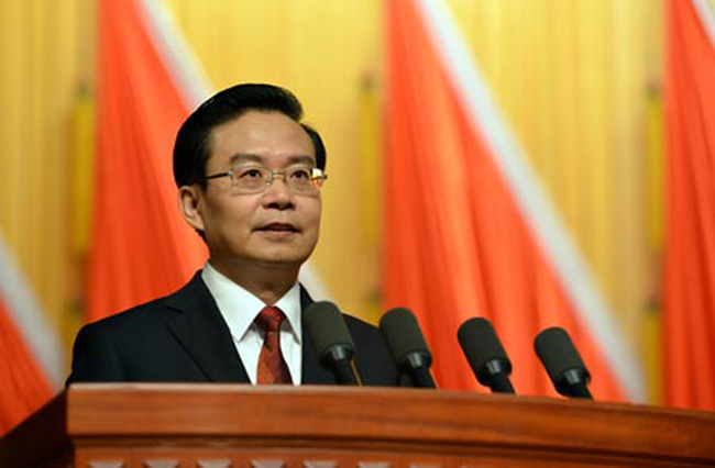 """Một trong những tỉnh trưởng trẻ nhất Trung Quốc """"nối gót"""" Chu Vĩnh Khang"""