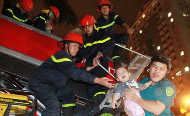 Liên tiếp xảy ra hỏa hoạn tại chung cư của Mường Thanh trong năm 2015