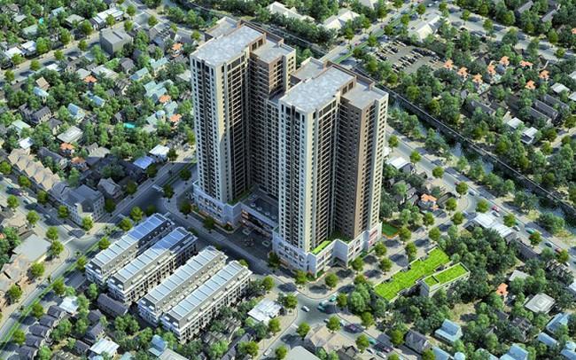 Trung tâm quận Hà Đông có thêm chung cư mới giá từ 1,7 tỷ đồng