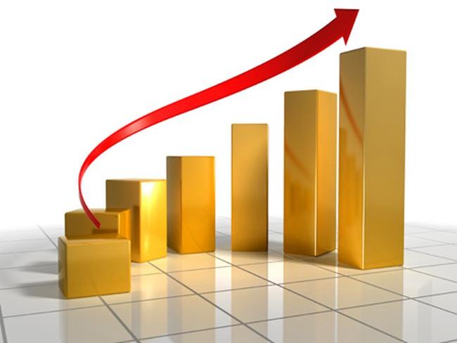 Hàng loạt cổ phiếu tăng trần, VnIndex tăng 12 điểm