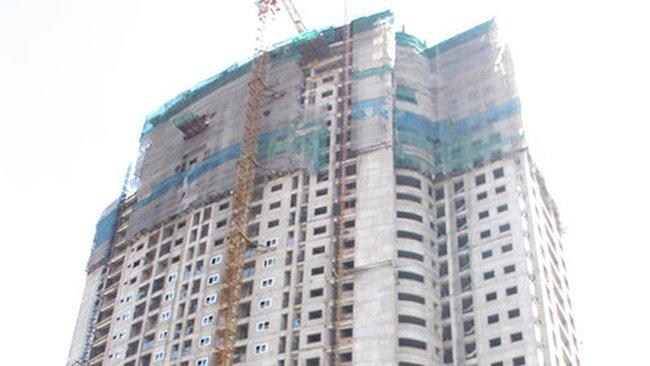 Thêm một công trình cao tầng xây sai thiết kế tại Hà Nội