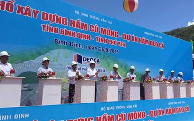 Động thổ xây hầm Cù Mông với mức đầu tư 3.921 tỷ đồng