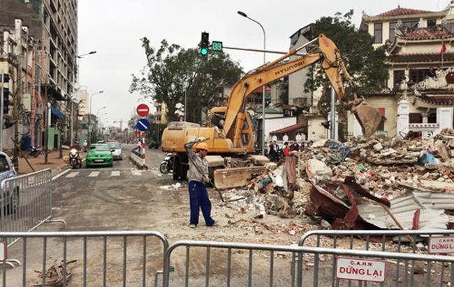 Hà Nội: Cưỡng chế nhà 8B Lê Trực để thi công đường Trần Phú-Kim Mã