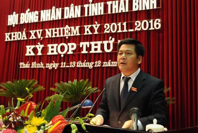 Ông Nguyễn Hồng Diên được bầu làm Chủ tịch UBND tỉnh Thái Bình