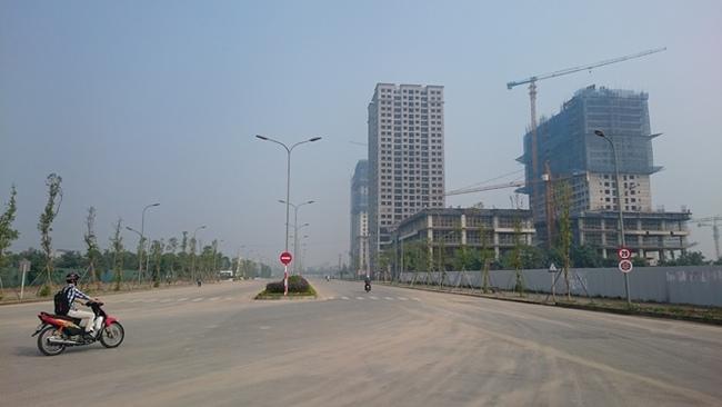 """Khu Đoàn Ngoại Giao: """"Điểm nóng"""" thị trường căn hộ Hà Nội"""