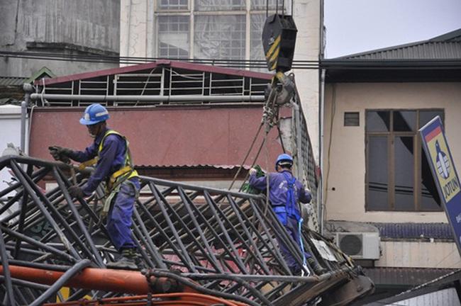 Tuyến đường sắt đô thị Nhổn-Ga Hà Nội được thi công trở lại