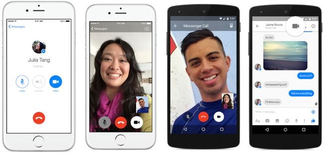 Facebook Messenger đã hỗ trợ gọi video miễn phí tại Việt Nam
