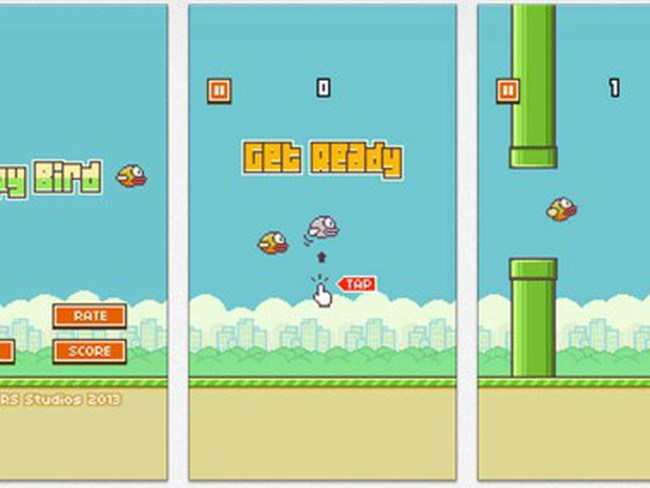 Flappy Bird vào Top 50 thương hiệu ưa chuộng nhất thế giới năm 2014