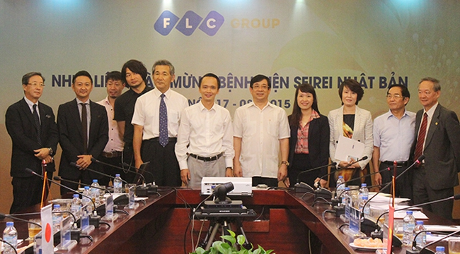 FLC hợp tác với tập đoàn hàng đầu Nhật Bản trong lĩnh vực y tế