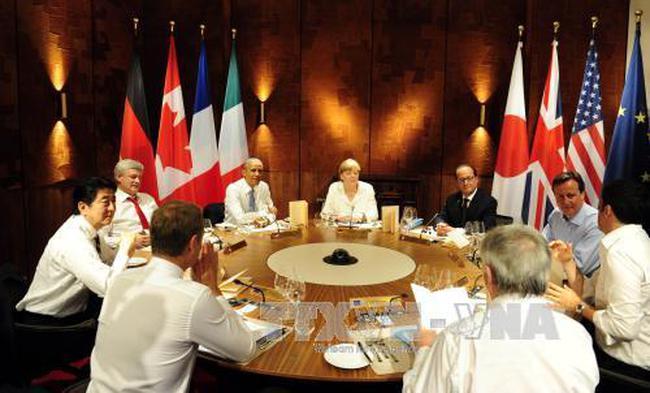 Hội nghị G7 thảo luận về Ukraine và Hy Lạp