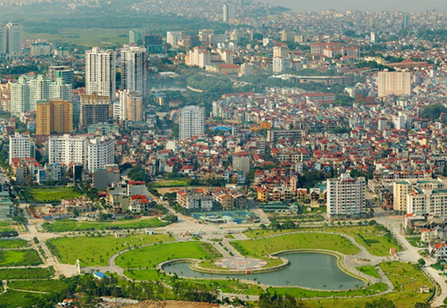 Phía Bắc sông Hồng sẽ là một vành đai xanh