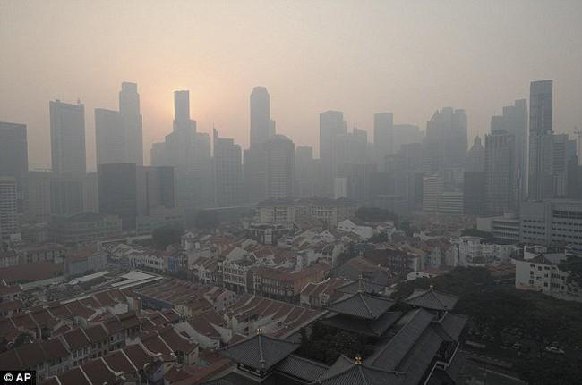 Singapore ô nhiễm kỷ lục, Thủ tướng Lý Hiển Long hủy đi Mỹ