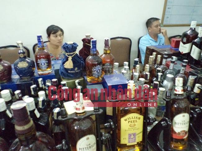 Lộ diện nhiều cửa hàng rượu giả ở Hà Nội và các địa phương