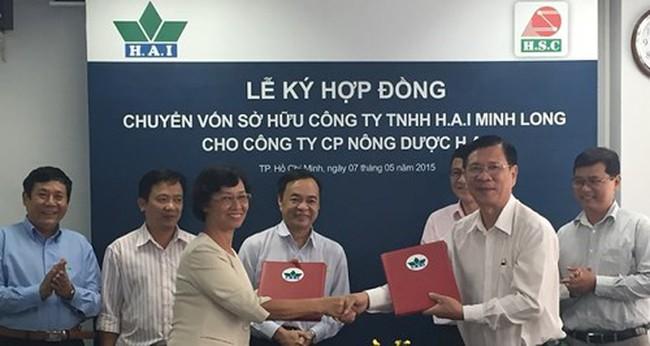 Nông dược H.A.I tăng tỷ lệ sở hữu tại HAI Minh Long lên 100%