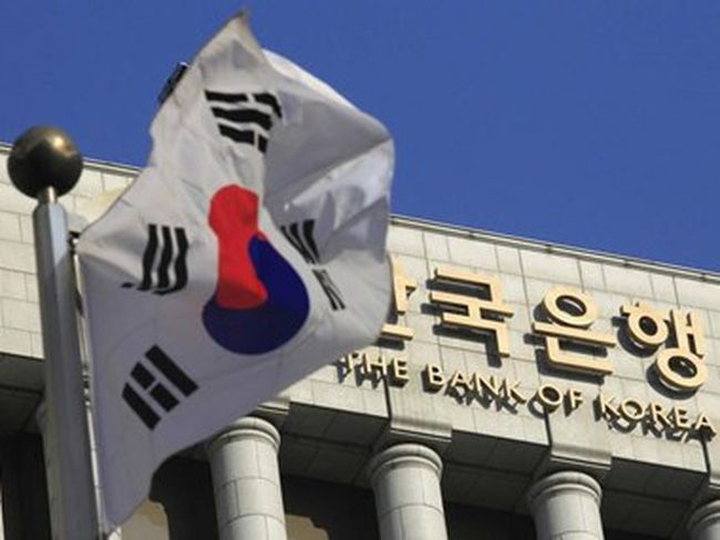 Ngân hàng trung ương Hàn Quốc duy trì lãi suất ở mức thấp kỷ lục