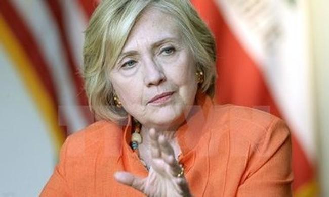 Bầu cử Mỹ 2015: Bà Hillary vẫn dẫn điểm các đối thủ Dân chủ