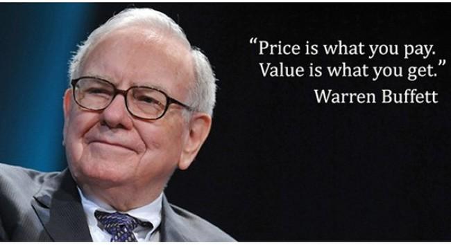 Warren Buffett: Có tiền mà cất mãi trong túi thì vô nghĩa!