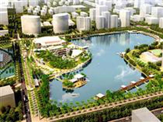 Hà Nội có thêm Khu chức năng hồ điều hòa rộng gần 320.000m2