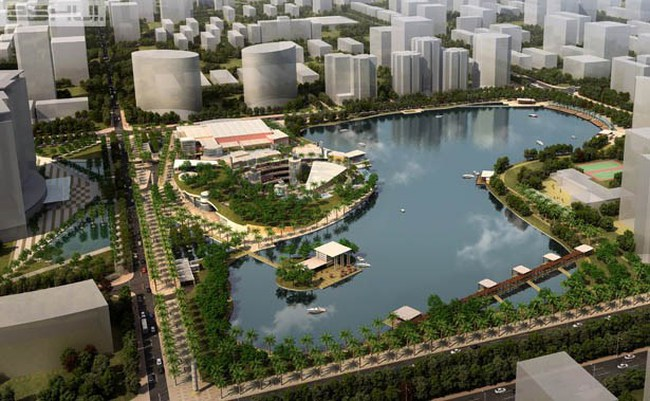 Hà Nội: Điều chỉnh Quy hoạch chi tiết Công viên Hồ Điều hòa Nhân Chính