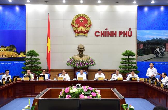 Chính phủ họp phiên thường kỳ tháng 10/2015