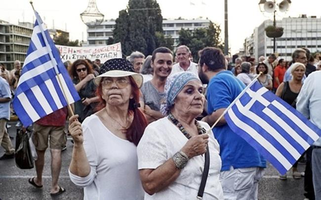 Hy Lạp trước thời khắc sống còn