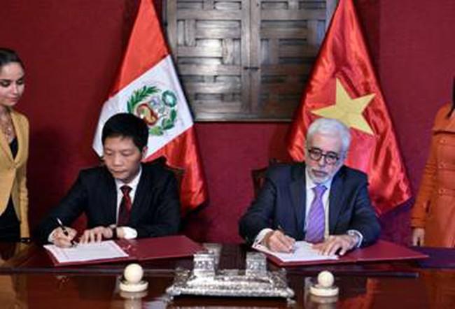 Việt Nam, Peru thiết lập cơ chế hợp tác song phương