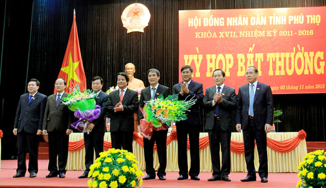 Ông Bùi Minh Châu được bầu làm Chủ tịch UBND tỉnh Phú Thọ