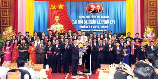 Ông Triệu Tài Vinh tái đắc cử Bí thư tỉnh ủy Hà Giang